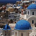 Fira Santorini by Bob Christopher