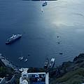 Fira Town View Santorini by Colette V Hera  Guggenheim