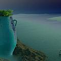 Fira View Santorini Greece by Colette V Hera  Guggenheim