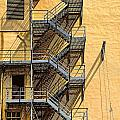 Fire Escape by Rudy Umans