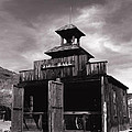 Fire Hall In Calico Ghost Town California by Susanne Van Hulst