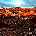Fire In The Painted Hills by Adam Jewell