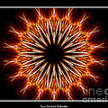 Fire Kaleidoscope Effect by Rose Santuci-Sofranko