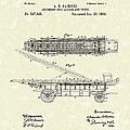 Fire Ladder Extension 1894 Patent Art by Prior Art Design