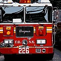 Fire Truck Color 16 by Scott Kelley