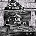 Fireman - Fire Helmets by Paul Ward