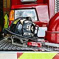 Fireman - Helmet by Paul Ward