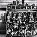 Fireman - Jackets Helmets And Boots by Paul Ward