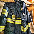 Fireman - Saftey Jacket by Paul Ward