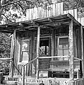 Fireman Cottage B And W by Douglas Barnard