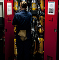 Fireman Stows A Self-contained by Stocktrek Images