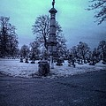 Firemans Monument Infrared by Joshua House