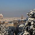 Firenze Under The Snow by Francesco Scali