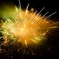 Firework Display At New Year's Eve by Olaf Broders
