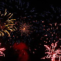 Fireworks At Oshkosh Airventure 2012. 01 by Ausra Huntington nee Paulauskaite