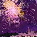 Fireworks In Malta by Angss McBride