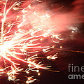 Fireworks In Texas 2 by Donna Brown