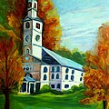 First Baptist Church Of America by Joan Bohls