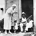 First Lady Eleanor Roosevelt Chatting by Everett