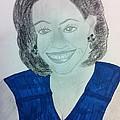 First Lady Michelle Obama by Charita Padilla