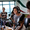 First Lady Michelle Obama Does An by Everett