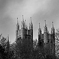 First Light - Spires by Alan Norsworthy