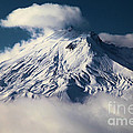 First Snow At Mt St Helens by Adam Jewell