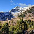 First Snow On Mt. Timpanogos - Utah by Gary Whitton
