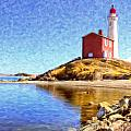 Fisgard Lighthouse by Dominic Piperata
