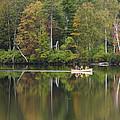 Fish Creek Pond In Adirondack Park - New York by Brendan Reals