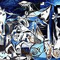 Fish Guernica by J Vincent Scarpace