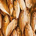 Fish Pattern On Wood by Setsiri Silapasuwanchai