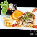 Fish Steak by Atiketta Sangasaeng