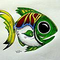Fish Study 2 by J Vincent Scarpace