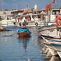 Fisherman At Yumurtalik by Gabriela Insuratelu
