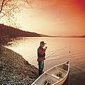 Fisherman by Darwin Wiggett