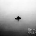 Fisherman In The Fog by Michal Boubin