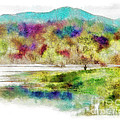 Fishing - Watson Lake by Arne Hansen