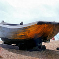 Fishing Boat - Brighton Beach by Martin Deane