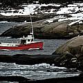 Fishing Boat by Geoff Evans