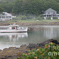 Fishing Boat Kennebunkport Maine by Anne Kitzman