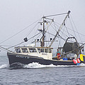 Fishing Boat by Michel DesRoches