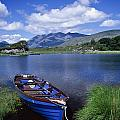Fishing Boat On Upper Lake, Killarney by Gareth McCormack