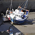 Fishing Boats by Charlotte May-Photography