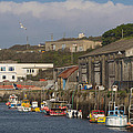 Fishing Boats Hayle Harbour by Brian Roscorla