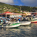 Fishing Boats In Frenchtown by Roupen  Baker