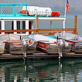 Fishing Boats by Karon Melillo DeVega