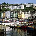 Fishing Boats Moored At A Harbor, Cobh by The Irish Image Collection