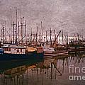 Fishing Boats Of Steveston-ca by Randy Harris