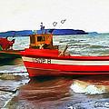Fishing Boats by Tom Schmidt